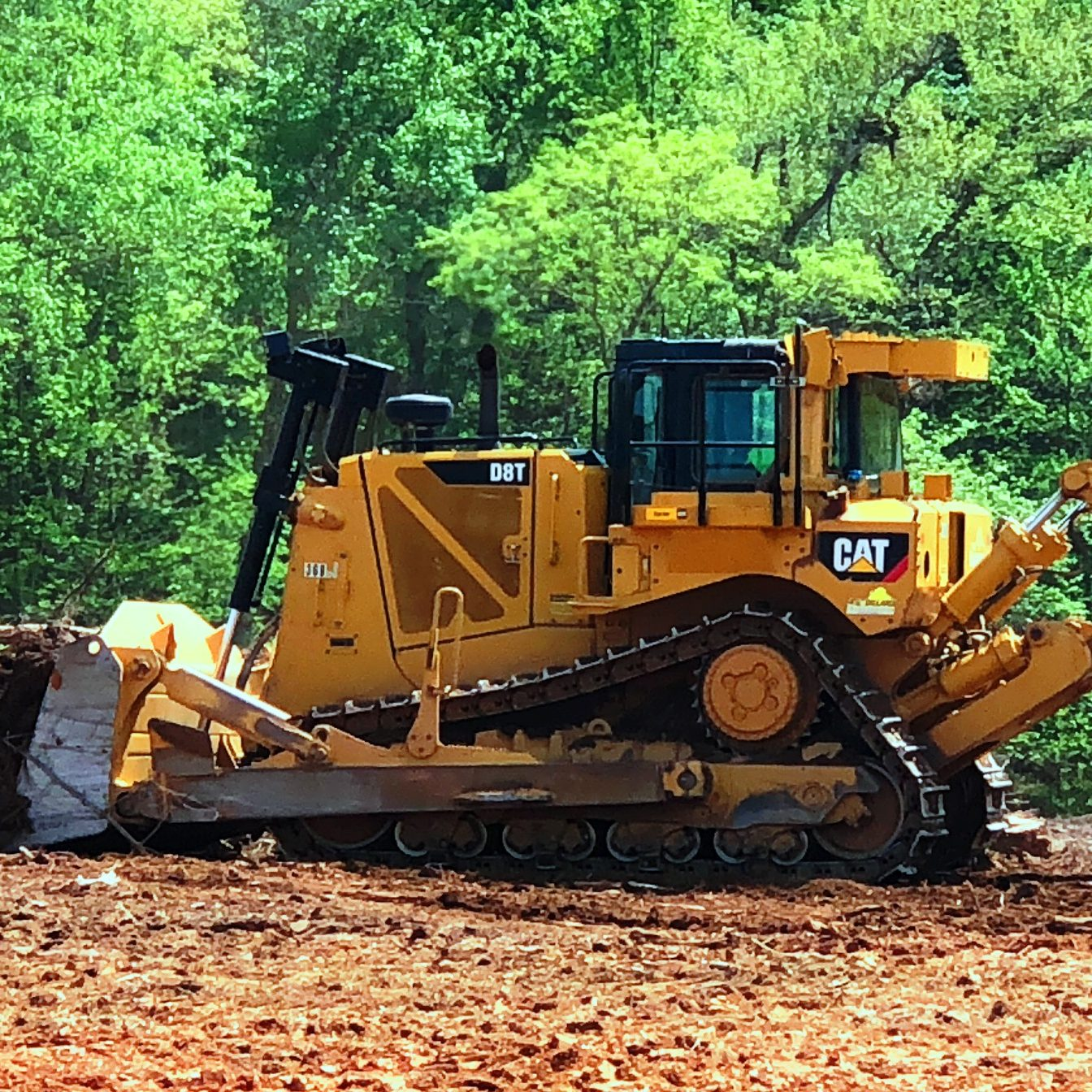 Cat D 8 In action